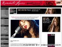 romantic-lyrics.com - Romantic Song Lyrics - Famous Love Songs & Romance Ideas
