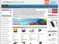 sales-battery.com - Sales battery: lithium battery, battery charger, power adapter