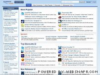 sharewareplaza.com - Offers freeware and shareware downloads. Also offers coupons for software products - SharewarePlaza.com