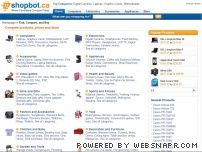 shopbot.ca - Shopbot - Compare prices - Canada  - Price Comparison - Comparison Shopping