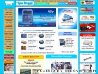 spadepot.com - Hot Tubs, Spas, Hot Tub Covers, Spa Chemicals - Spa Depot