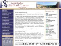 staffordschools.net - Stafford County Public Schools - Index