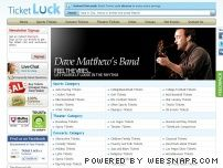 ticketluck.com - Sports Tickets, Concert Tickets & Theater Tickets: Ticket Luck
