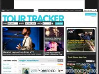 tourtracker.com - Tour Dates and Concert Tickets Information on Tourtracker.com