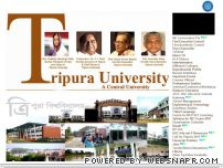 tripurauniversity.in - Wel Come to the Tripura University, Suryamaninagar, Tripura West