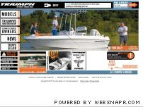 triumphboats.com - Saltwater Fishing Boats : Center Console Boats : Bay Boats: Skiff ...