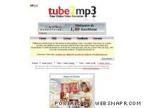 tube2mp3.de - Tube2mp3 - Home