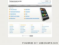 turboproxyserver.info - Free Proxy Server, Unblock MySpace, Unblock Websites, Proxy List, Proxies, Proxy Sites, Unblock proxy - Turbo Proxy Server