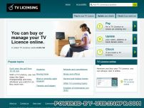tvlicensing.co.uk - TVL - Welcome to TV Licensing