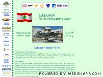 tyros.leb.net - Lebanon, the Cedars' Land