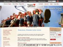 virginia.org - Virginia Is For Lovers - Vacation in Virginia - Beaches, Mountains, History and More