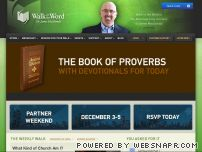 walkintheword.com - Walk in the Word with Dr. James MacDonald: Igniting Passion in the People of God through the Proclamation of Truth.