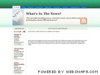 whatsinthenews.net - Your Source for Current Events | Breaking News | News Alerts | World News | Latest News Headlines