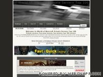 wow-private-servers.com - World of Warcraft Private Servers Top 100 - Rankings - All Sites