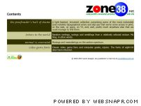 zone38.net - Zone38.net: codeman38's somewhat personal web site